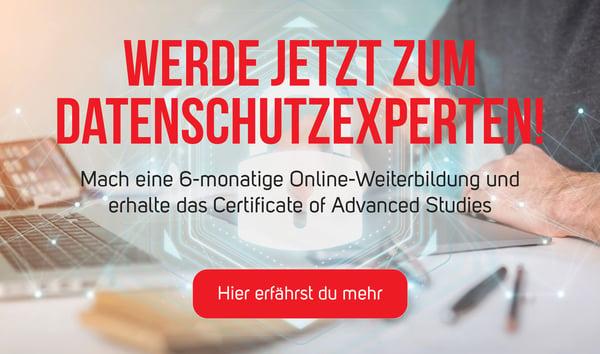 Bildung in Datenschutz an der FernUni Schweiz