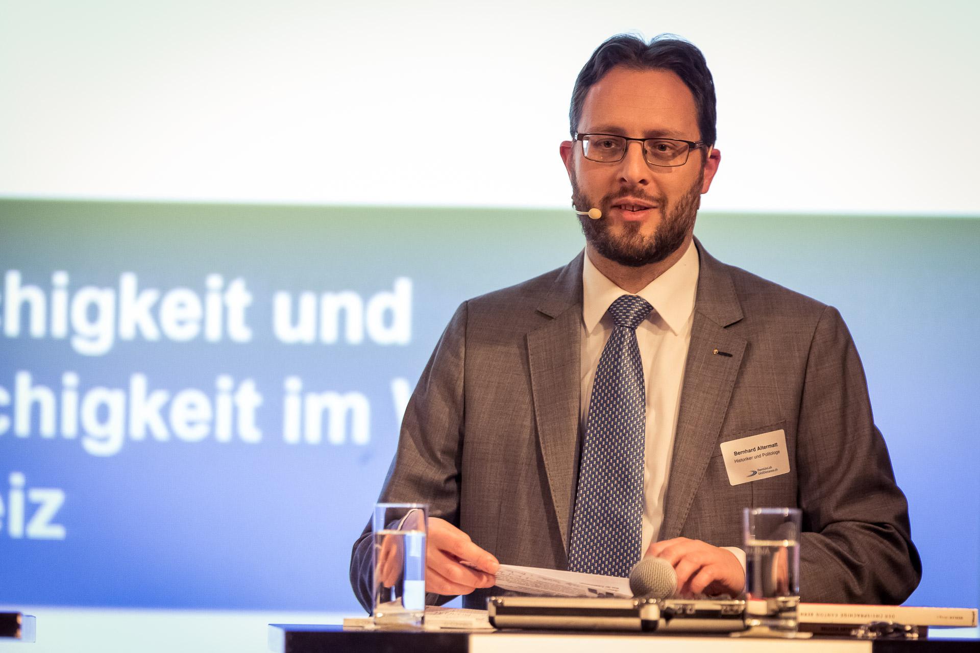 Bernhard Altermatt, Historiker