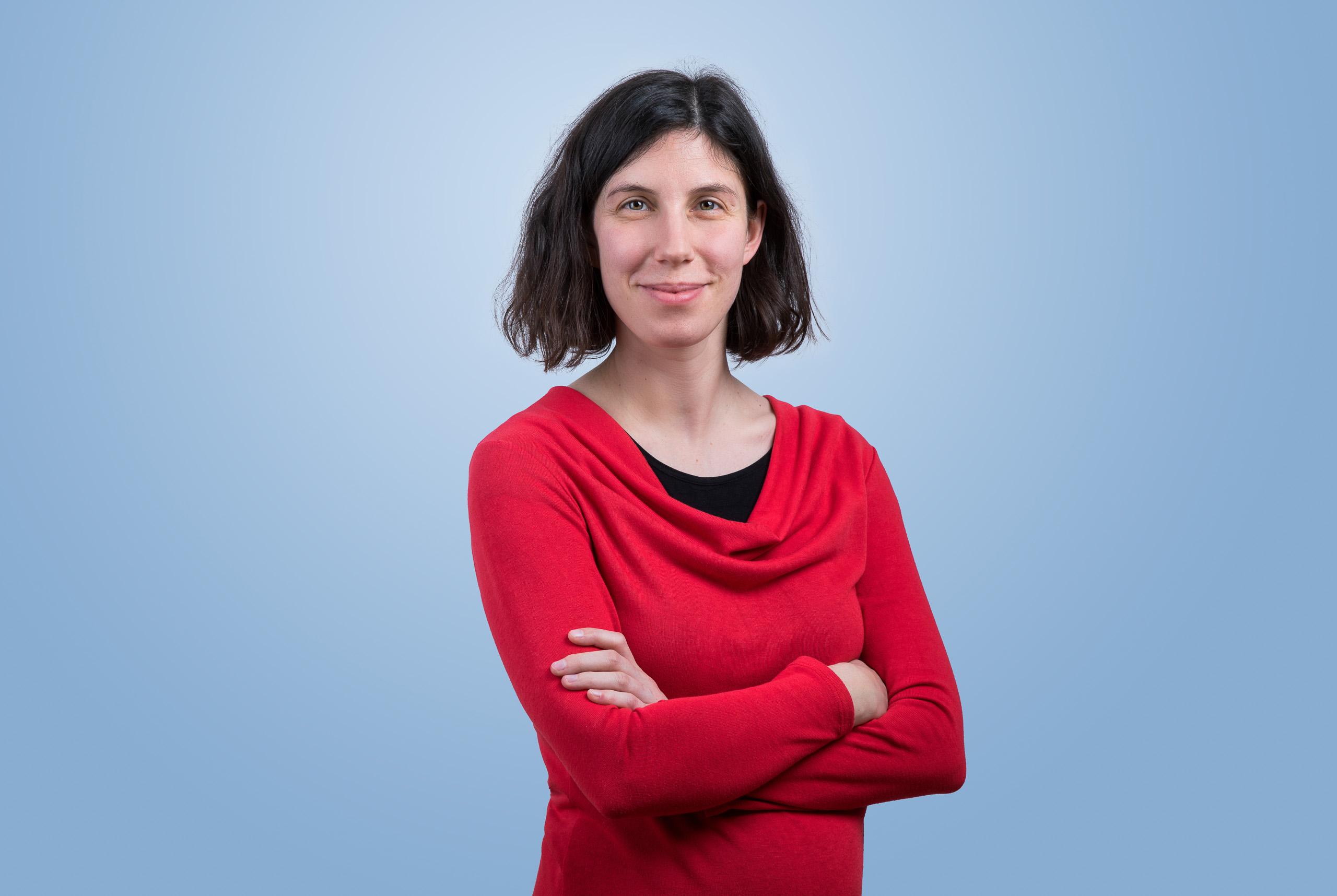 Géraldine Coppin, Forscherin und Professorin